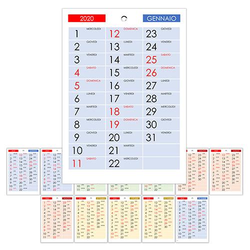 Calendario 2021 Con Festivita Da Stampare.Calendario 2020 Annuale Calendario Su